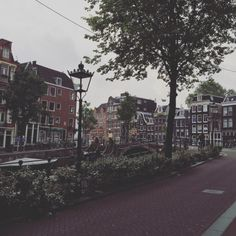 ellaphantastic:  Walking through Amsterdam in May.