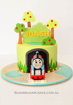Just another way of doing the trees/grass around the cake. This is the tunnel that I would like.