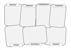 Here are some of the templates I use with my students when I want to change up their recording styles. Students draw a sequence of events. They can add text or speech bubbles in each box . These templates are Great for - visual learners - encouraging writing - to help pre-plan writing activities. - Sequence events in a story o Actions and consequences o Introduction - conflict - resolution o Weekend recounts