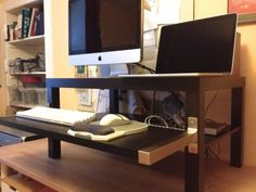 Space Saver: 15 Wall-Mounted Desks to Buy or DIY | Wall mounted ...