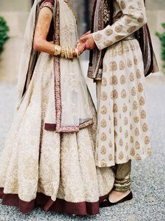 22 Ideas Indian Bridal Couple Outfit For 2019 Asian Wedding Dress, Indian Wedding Ceremony, Big Fat Indian Wedding, South Asian Wedding, Indian Wedding Outfits, Indian Outfits, Indian Weddings, Bride Indian, Tan Wedding