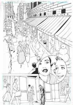 Madame Xanadu #16 Page 1 Original Art Artists: Amy Reeder (Penciller) ,  Richard Friend (Inker)