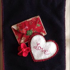 New Valentines Day Banner Valentines Day, Banner, Felt, Christmas Ornaments, Sewing, Holiday Decor, Home Decor, Valantine Day, Picture Banner