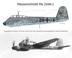 Messerschmitt Me 210A-1 2H+AA W.Nr.0182