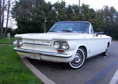 1963 Chevrolet Corvair Convertible   Cars we had when I was growing up.