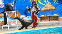 El pirata mas terrorífico en en Terra Natura Murcia. #leonmarino