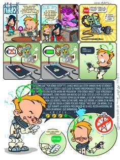 Alan Alien N°10 - Publicada en la revista infantil PIN - Guion & Arte (realizado de forma digital)