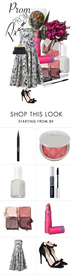 """""""Lady Grey"""" by rachael-aislynn ❤ liked on Polyvore featuring Stila, By Terry, Essie, Christian Dior, Tom Ford, Lipstick Queen, Alexander McQueen, STELLA McCARTNEY, Whiting & Davis and Prom"""