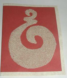 Maori Sand Art (texture)
