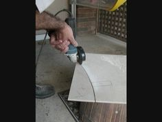 Mosaic Tile Tutorial How to cut china tile center focals from a dish - YouTube