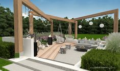 Pergola, Outdoor Structures, Patio, Outdoor Decor, Design, Gardening, Yard, Terrace, Garten