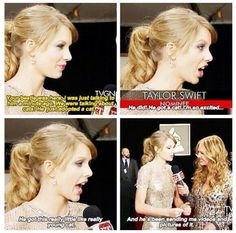 Taylor talking about Ed and his new cat!