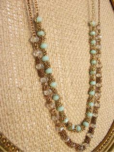 Miss Lovie: Wrap it Up Necklace-A Tutorial