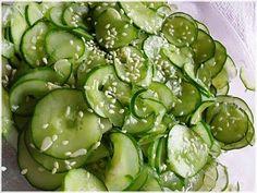 Japanese sunomono - Cucumber salad. (Tokyo Joe's copycat recipe)