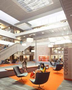 Odegaard Undergraduate Library | The Miller Hull Partnership; Photo: Lara Swimmer | Bustler