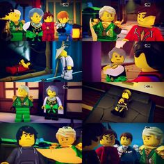 "I love how in the fifth one lloyd's like, ""heck yeah I'm so clever he'll never suspect a thing go me"" and garmadon's like, wth I literally had evil in my bloodstream my kid should at least be a decent liar"