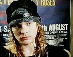Gifs animados Axl Rose (Guns N' Roses)