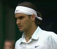 A 19 year old Roger Federer