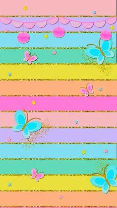 New screen savers wallpapers glitter Ideas Cute Wallpaper Backgrounds, Wallpaper Iphone Cute, Cellphone Wallpaper, Screen Wallpaper, Cool Wallpaper, Pattern Wallpaper, Cute Wallpapers, Bright Wallpaper, Rainbow Wallpaper