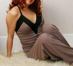 organic cotton lingerie camisole with contrasting bands - GARÇON womens sleepwear  $66