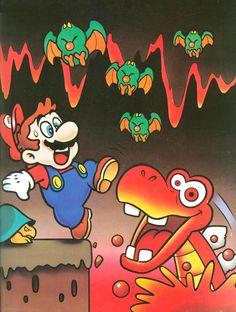 Vanilla Dome - Super Mario World 2 Yoshi's Island