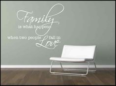 Wall Sticker Family Quote Decorative Mural Kitchen Lounge Sticker Decal   eBay