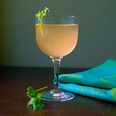 {recipe} The Sudden Blush Cocktail: Cantaloupe gives this tequila-based cocktail a refreshing sweetness with a little kick from serrano peppers.
