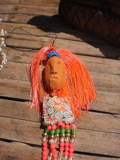 Sanook Tribal Spirit Doll by KulshiMumkin on Etsy, $6.50