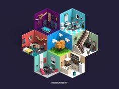 ArtStation - All room, ruimin zhu