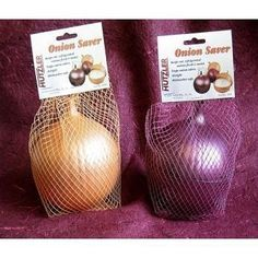 Onion Saver - Net-Bagged Case Pack 12 by DDI. $25.95. Made of plastic, the 2 sides attach by twist lock.. Airtight and dishwasher safe.. Made to look just like an onion, this will never be lost and forgotten in the fridge.. Case Pack 12. Contain onion odors while keeping cut onions fresh and moist.. Onion Saver - Net-Bagged Case Pack 12