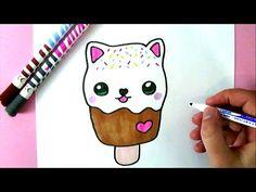 Wie zeichnet man eine liebe EISCREME - YouTube