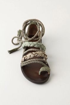Very nice for warmer weather springfashion sandals. #anthrofave