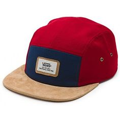 e18a36ec677 Vans Off The Wall Men s Durant 5 Panel Camper Hat Cap - D..