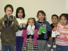 Blue Skies for Children distributed #shoes to kids in #Washington!    giveshoes.org