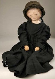 SympleTymes Cloth Art By Sherrie Nordgren: Presbyterian Dolls (1875-1900)