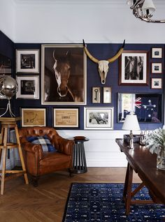 Epic Vintage Home Office Design | Pinterest | Exposed brick walls ...
