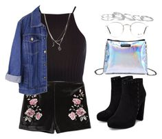 eletric teen by melanie-pacheco on Polyvore featuring moda, River Island, Kendra Scott, Ray-Ban, ASOS and urbanstyle