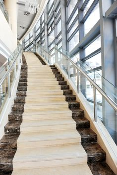 Panda Marble Stairs