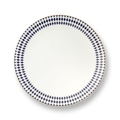 Navy & Gold Grande Hutton Bone China Dinner Plate | Classic $38