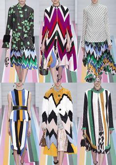 Milan Fashion Week Womenswear Print Highlights Part 1- Autumn/Winter 2016/17 ♦F&I♦