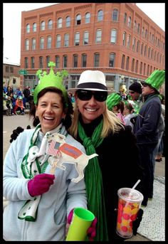 My First St Patrick's Day Parade.  Denver, CO (Chris Hauge)