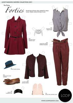 Loop Fashion.  (Graphic Design, Illustration, Branding)