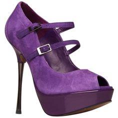 Purple heel. Beautiful color