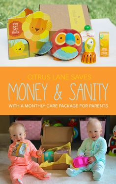 Join Citrus Lane and delight your little one with a surprise monthly box of the best toys and goodies, delivered right to your doorstep! Each box features 4-5 products that are handpicked for your child's age and stage (from pregnancy to preschool). ➜Use code PIN40 at checkout to save 40% on your 1st box. Ends 11/22/15.