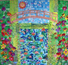 Cassie Stephens: Mammoth Monet-Inspired Mural