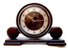 Art deco clock 1930s