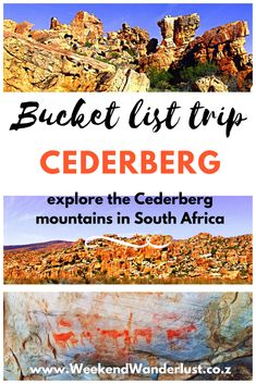 Exploring the Cederberg mountains in South Africa is certainly a bucket list trip you have to take.