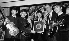 Sir George Martin (with The Beatles)