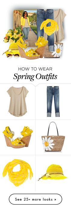 """Great with dresses and jeans!"" by tasha1973 on Polyvore featuring Calypso St. Barth, Kate Spade, Current/Elliott, Diane James, Dolce&Gabbana and Alexander McQueen"