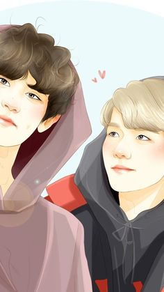 Chanbaek Fanart, Exo Chanbaek, Baekhyun Chanyeol, Kpop Fanart, Exo Couple, Couple Art, Exo Anime, Kpop Exo, Art Sketches
